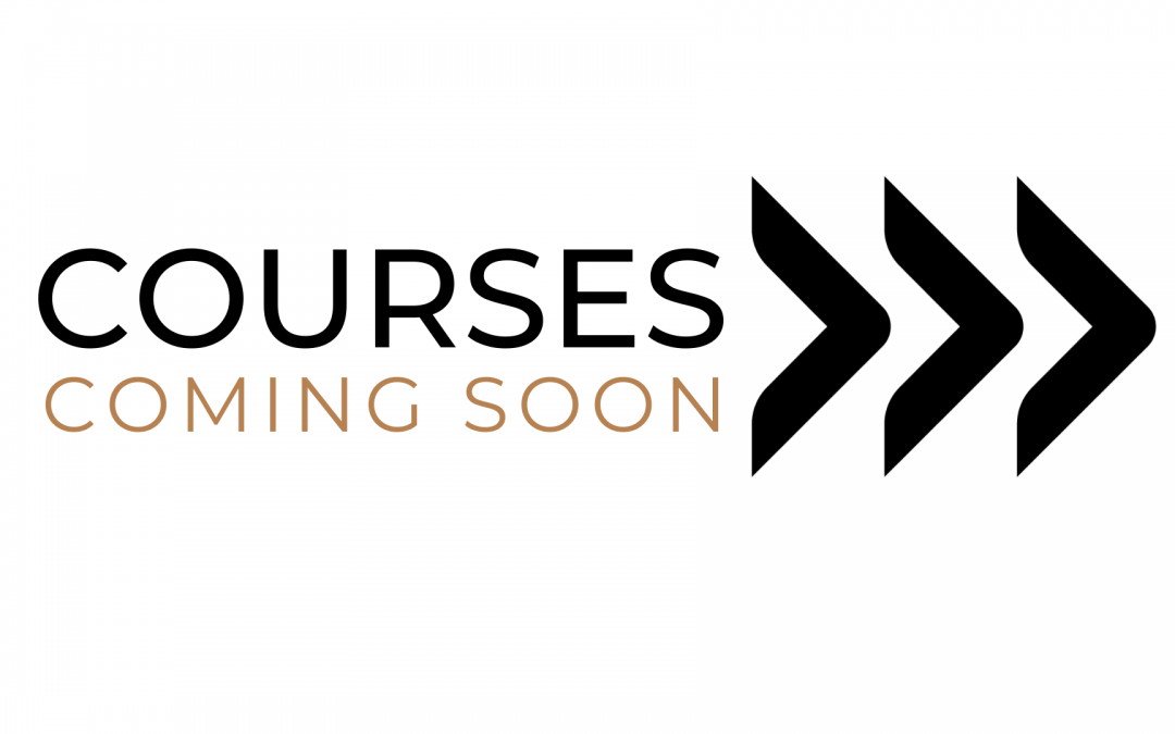 More Courses Coming Soon