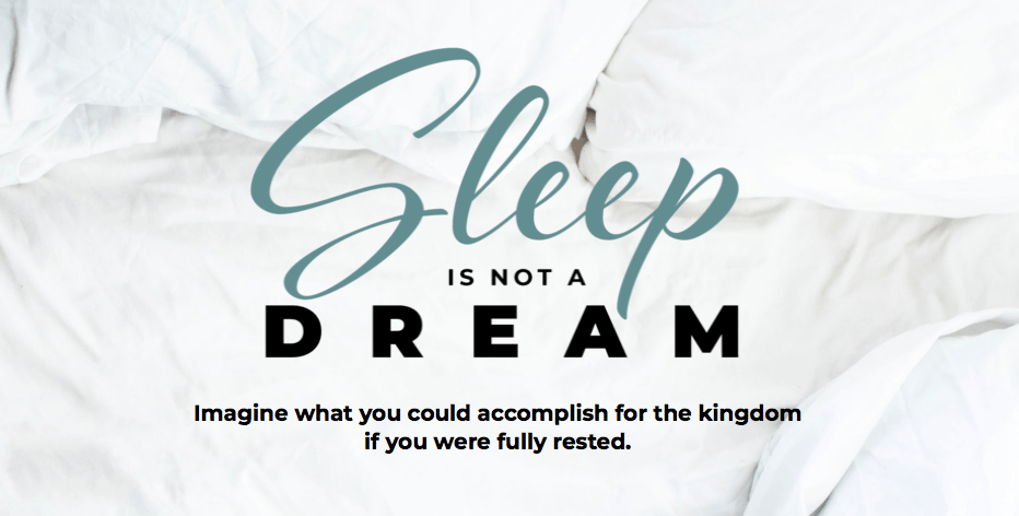 Sleep Is Not A Dream