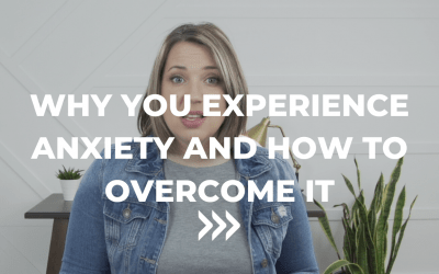Why do you experience anxiety and how to overcome it