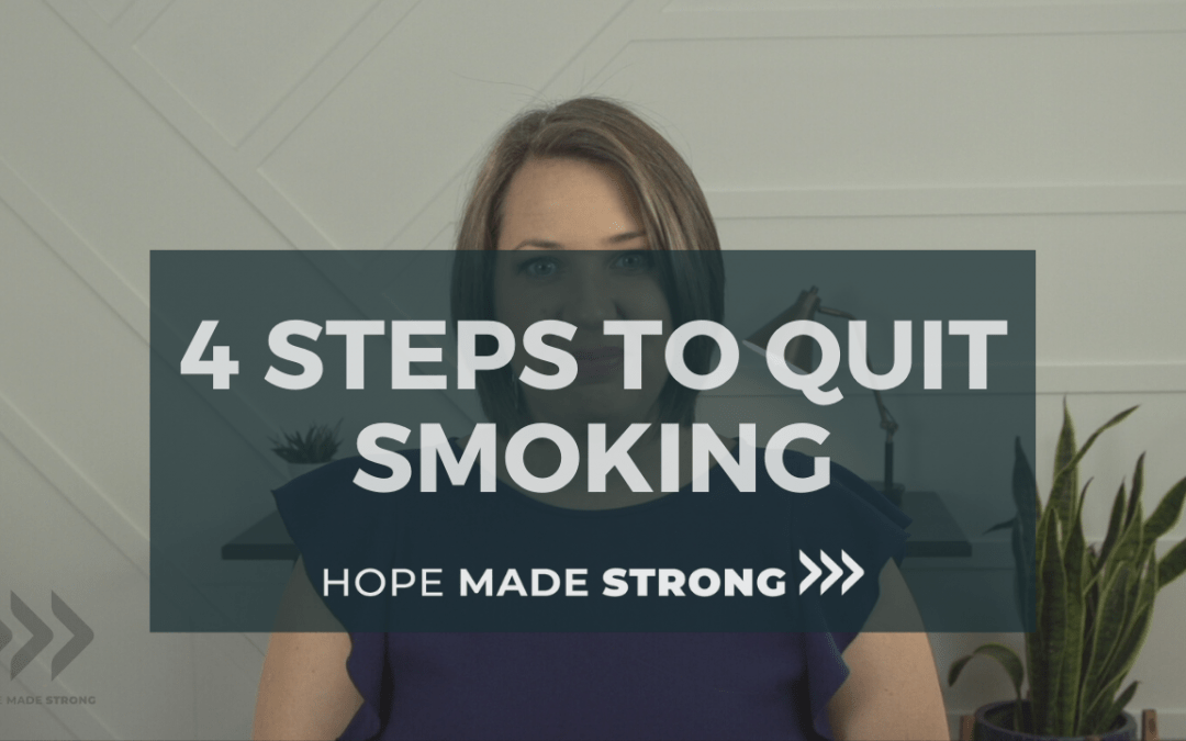 4 Steps to quit smoking