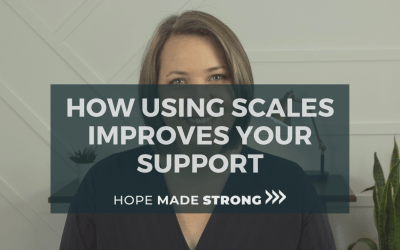 Using scales to support