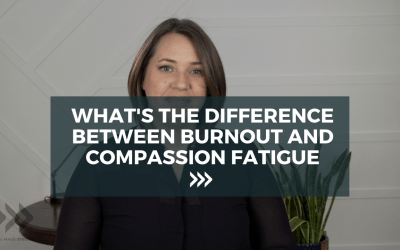 What's the difference between burnout and compassion fatigue